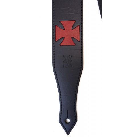 CELTIC CROSS RED-BLACK